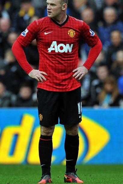 Rooney y compañía lucían confundidos, pues en el resto del primer tiempo...