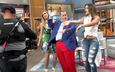 La gozadera, Lili, Raúl, Clarissa y Daniela aprendieron a bailar la nuev...