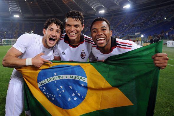 Los brasileños hicieron una dupla temible en el calcio, y compartieron p...