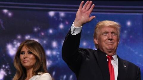 Donald Trump refuerza su mensaje