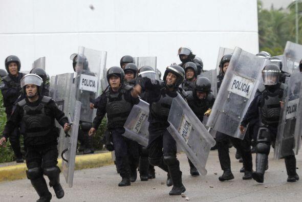 Pese a la agresión inicial el gobernador del estado de Guerrero dijo que...