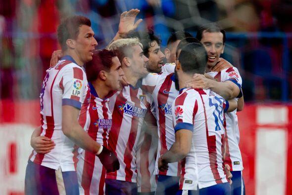 La condición para el trío Griezmann-Mandzukic-Torres es que Simeone no h...