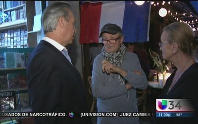 Los Ángeles comparte el duelo de Francia