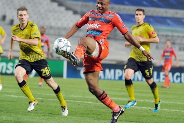 El Olympique de Marsella también se enfrentó a un equipo a...