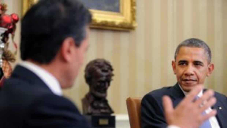 Enrique Peña Nieto recibirá a Barack Obama la próxima semana.
