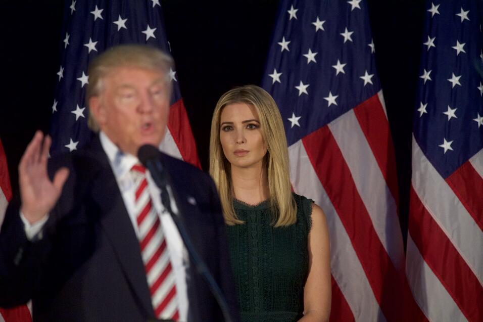 Nunca fue tan difícil ser hija de Trump: nadie se quiere sentar al lado...