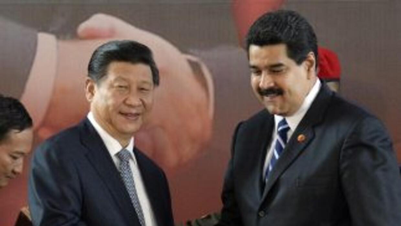 El presidente chino Xi Jinping dijo que Venezuela se ha convertido en un...