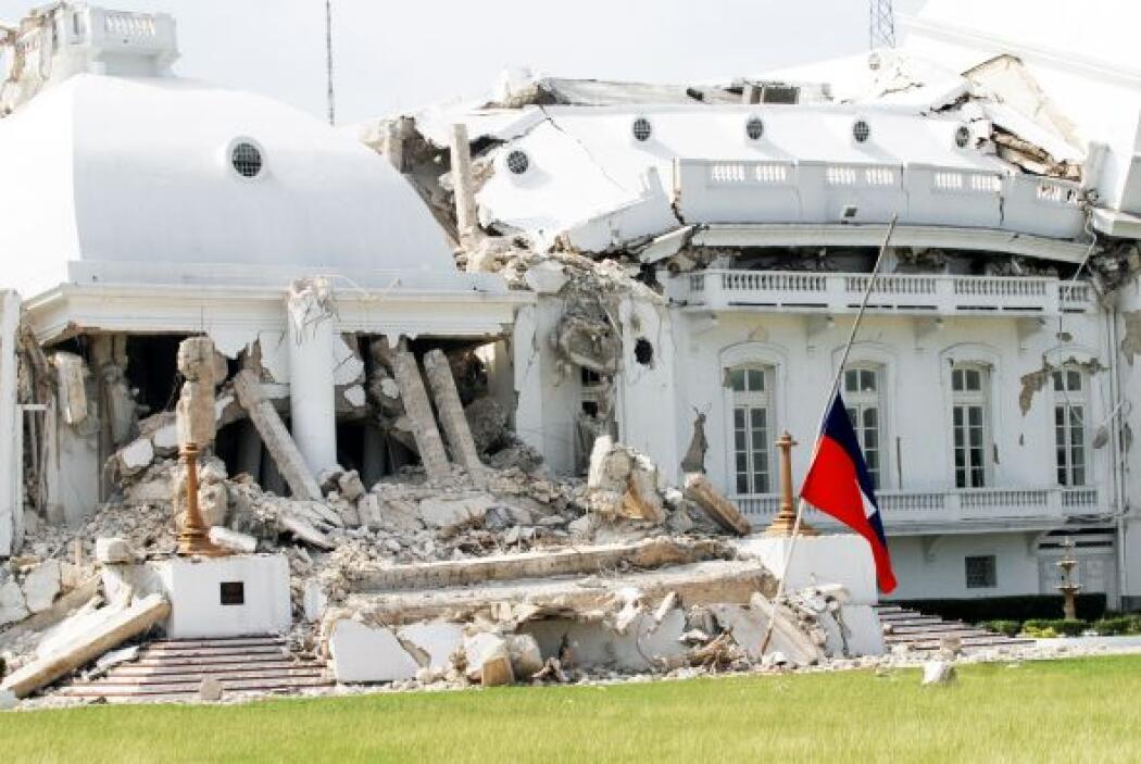 12 de enero de 2010. Un terremoto de 7 grados con epicentro en Puerto Pr...