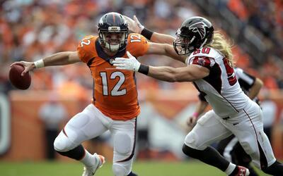 Falcons acaban con el invicto de los Broncos