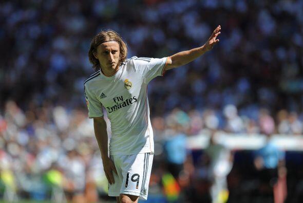 En realidad, Luka Modric fue el líder de los ataques madridistas.