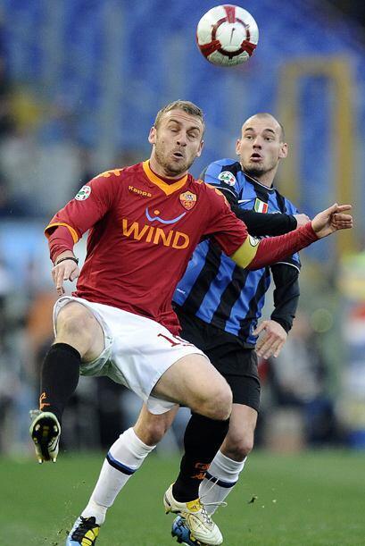 Ahora fue la Roma quien pasó por encima del Inter en la Serie A del fútb...