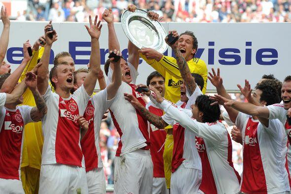 Holanda: Ya eran siete años sin que el Ajax de Amsterdam se lleva...