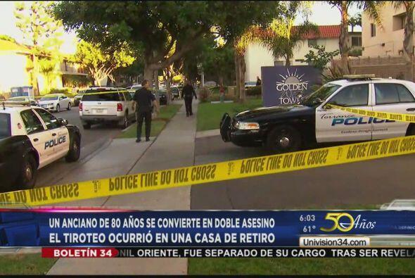 ANCIANO CRIMINAL DE 80 A'OS.  Un anciano de 80 años mató a dos a balazos...