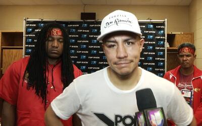 """Jessie Vargas; """"La pelea fue muy cerrada, quiero pedir disculpas a los a..."""