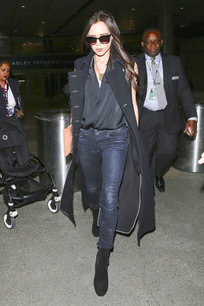 Victoria Beckham domina el street style y esta vez no fue la excepci&oac...