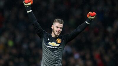 David de Gea renovó con Manchester United por cuatro años más.