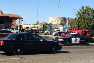 Despliegue policial tras el tiroteo de este jueves en Sacramento. (Image...