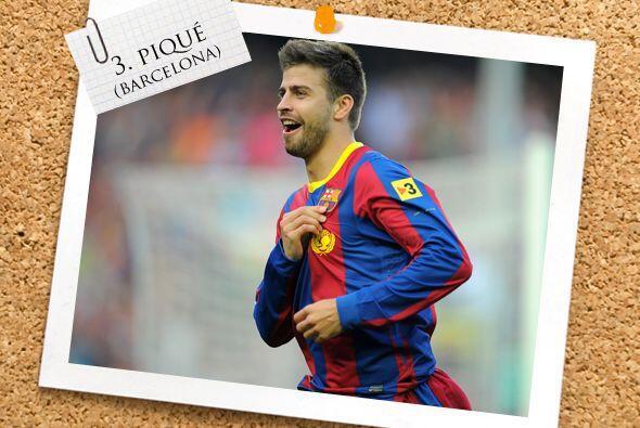 Ahora contamos con un hombre del líder de la Liga española, Gerard Piqué.
