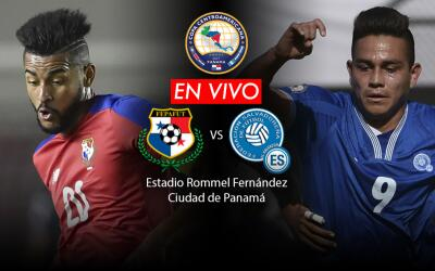 Panamá vs. El Salvador Copa Centroamericana