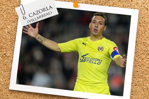 El español Santi Cazorla fue el orquestador de cada embate de Villarreal...