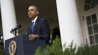 "Obama: ""El Affordable Care Act está aquí para quedarse"" GettyImages-4786..."