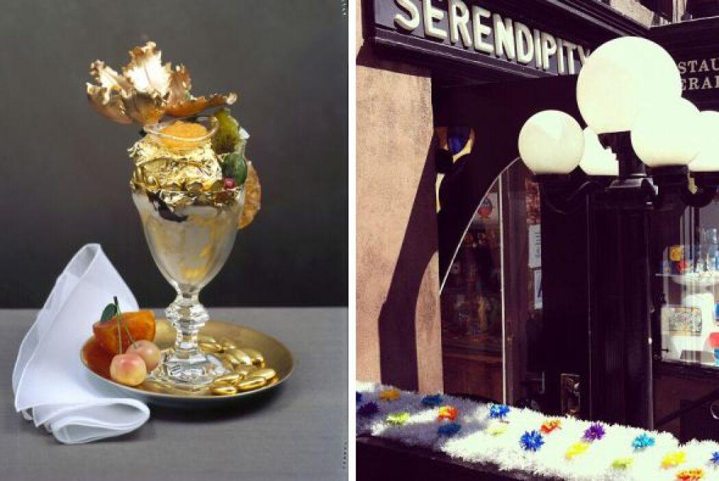 Este sundae de helado de Serendipity 3 en New York ya es famoso por su e...