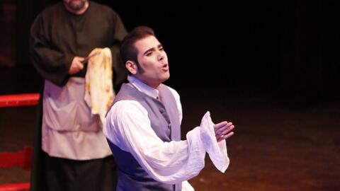 Laureano Ortega es el protagonista de la ópera Tosca en Managua....
