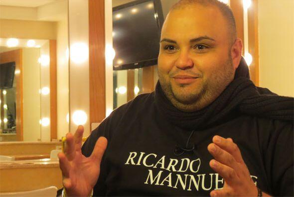 Ricardo Rivera durante nuestra entrevista.