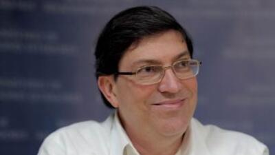 El canciller cubanoBruno Rodríguez.
