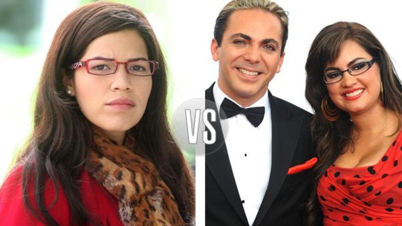 La novia de Cristian Castro tiene cierto parecido con el personaje de Ug...