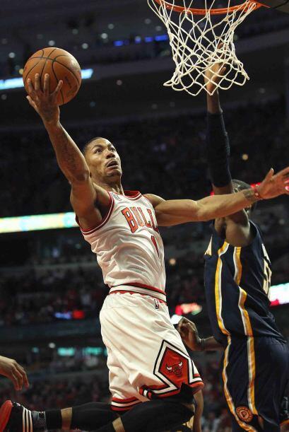 1 - Derrick Rose de los Bulls de Chicago. Es el casi imposible argumenta...