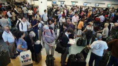 La central aérea alcanzó los 40 millones de pasajeros, una cifra nunca a...