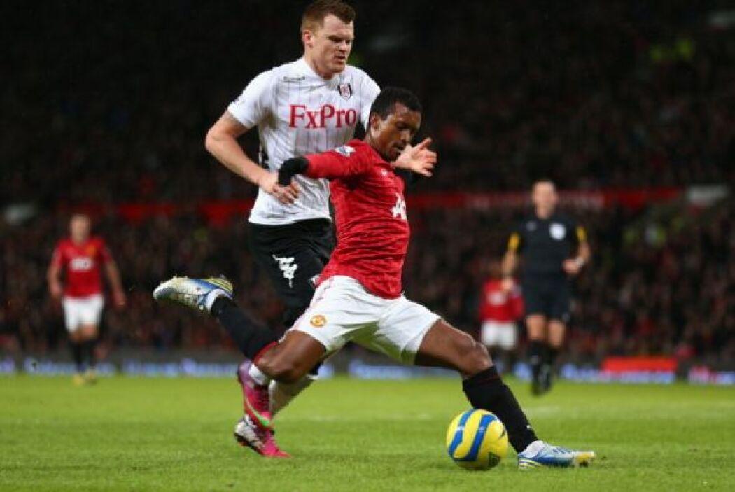 El United fue muy superior al Fulham y comenzó demostrándolo muy rápido.