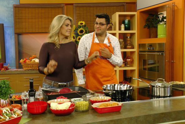 La guapa Chef Isa Souza le enseñó a Paul cómo prepa...