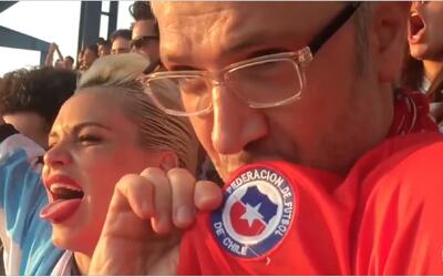 Gonzalo Vivanco hizo sufrir a Luz Cipriota en la final entre Chile y Arg...