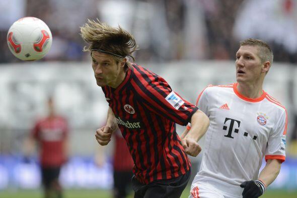Eintracht no regaló el partido, pero los bávaros fueron superiores.