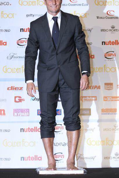 No piense que Javier Zanetti se volvió loco, ocurre que el hombre...