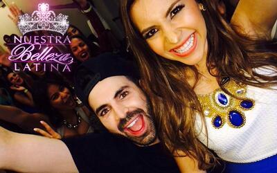 Aly Villegas de travesuras con Jomari Goyso en las audiciones de Nuestra...