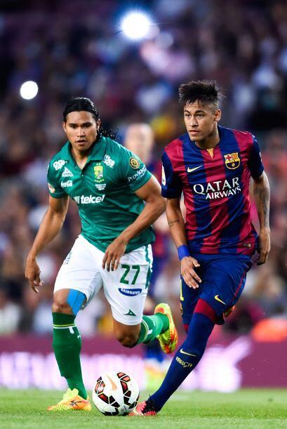 El 'Gullit' Peña y Neymar, dos futbolistas que fueron mundialista...