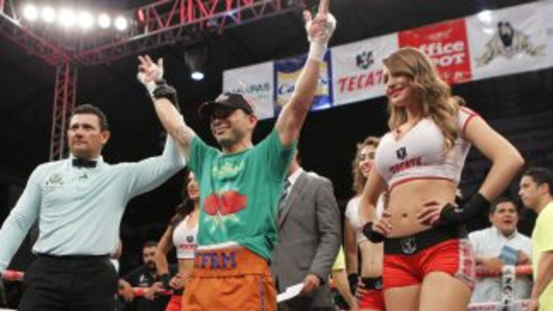 'Kochulito' Montiel noqueó en un round a Rodríguez (Foto: Zanfer).