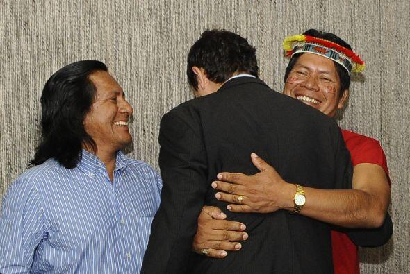 Alrededor de 30,000 pobladores de las provincias de Orellana y Sucumb&ia...