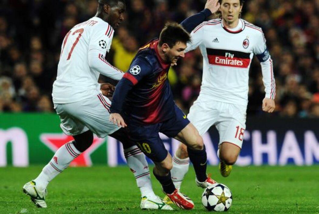 A Messi solo lo pudieron para con faltas.
