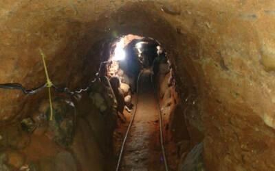 Las autoridades mexicanas descubrieron un nuevo túnel que presunt...