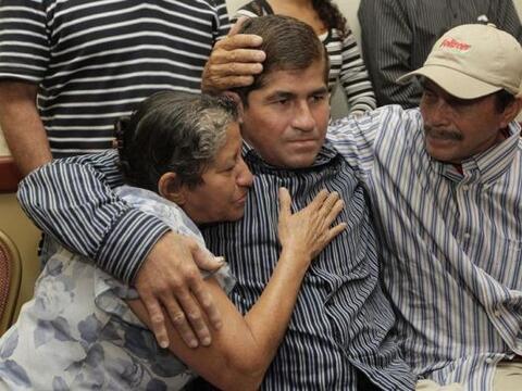 El pescador salvadoreño José Salvador Alvarenga, protagonista de una inc...