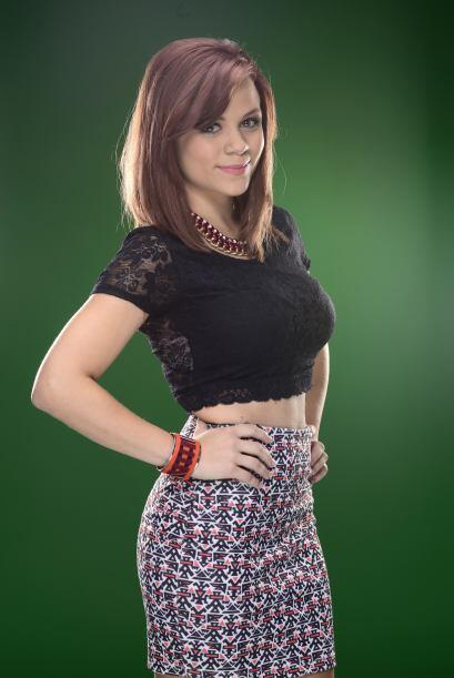 Ana Cristina estudió en una escuela especializada en teatro.