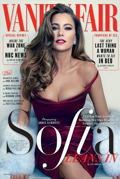 Sofia Vergara aparece en la portada de la revista Vanity Fair luciendo m...