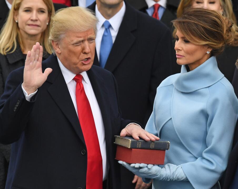 Donald Trump juramento