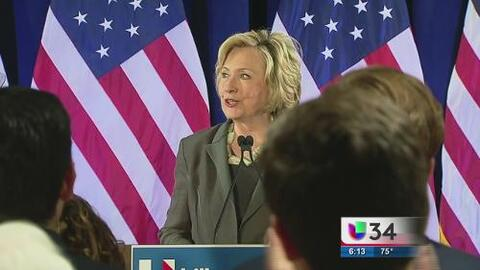 Hispanos en Georgia a favor de Hillary Clinton