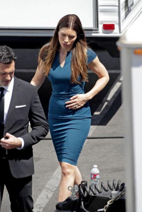 ¿Jessica Biel está embarazada?