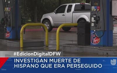 Investigan la muerte de un hombre hallado en una gasolinera